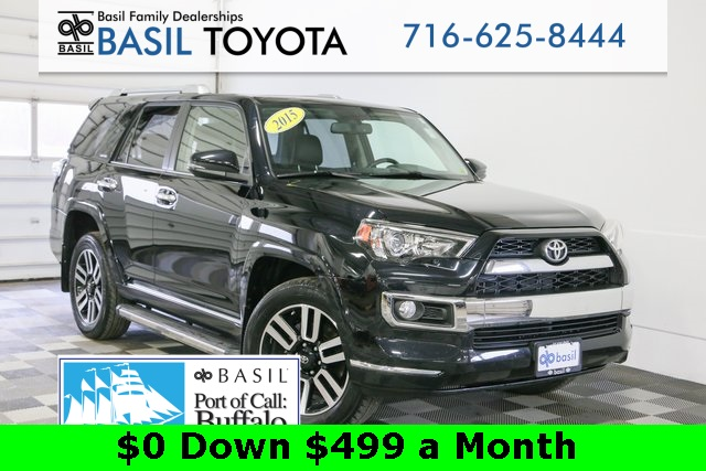 Certified Pre-Owned 2015 Toyota 4Runner Limited