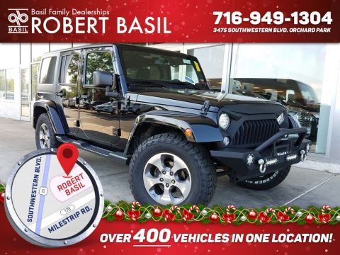 Used 2016 Jeep Wrangler Unlimited Sahara With Navigation & 4WD - #RB19613A in Orchard Park, NY | Basil Family Dealerships