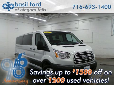 Pre-Owned 2017 Ford Transit Wagon XL