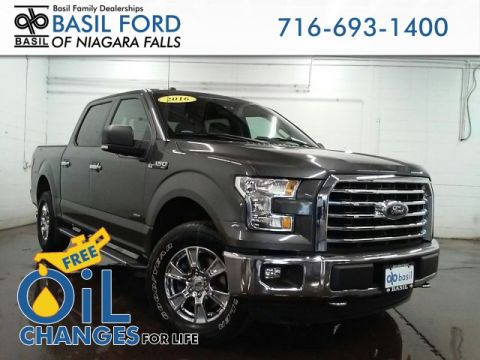 Used 2016 Ford F-150 XLT 4WD - #NFP1207 in Niagara Falls, NY | Basil Family Dealerships