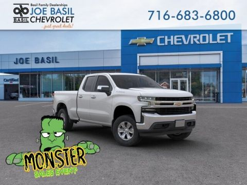 New 2019 Chevrolet Silverado 1500 LT Double Cab Pickup