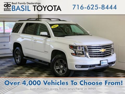 Used 2017 Chevrolet Tahoe LT With Navigation & 4WD - #106786 in Lockport, NY | Basil Family Dealerships