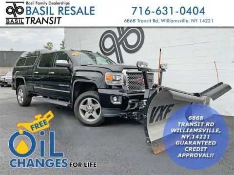 Used 2015 GMC Sierra 2500HD Denali With Navigation - #T8988A in Williamsville, NY | Basil Family Dealerships