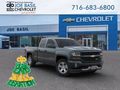 New 2019 Chevrolet Silverado 1500 LD LT Double Cab Pickup 4WD - #D3427T in Depew, NY | Basil Family Dealerships