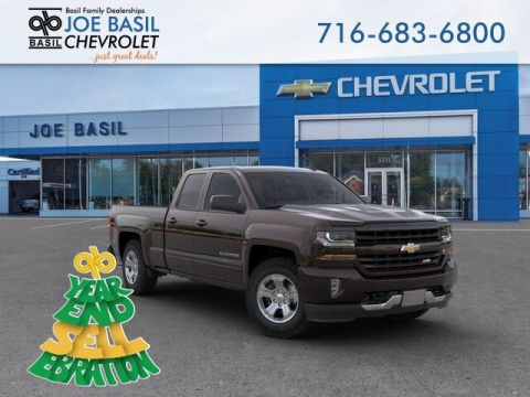 New 2019 Chevrolet Silverado 1500 LD LT Double Cab Pickup 4WD - #D2695T in Depew, NY | Basil Family Dealerships