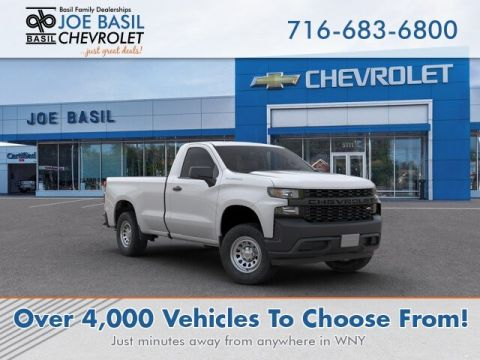 New 2019 Chevrolet Silverado 1500 Work Truck Regular Cab Pickup