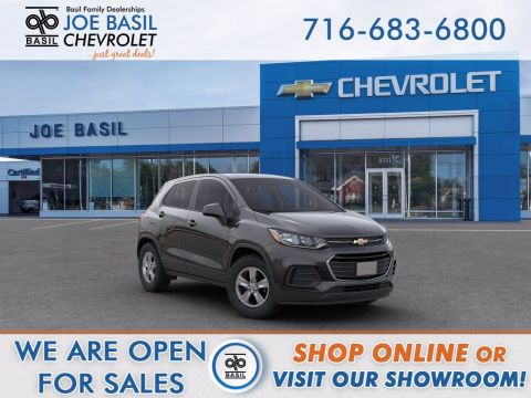 New 2020 Chevrolet Trax LS AWD - #E861T in Depew, NY | Basil Family Dealerships