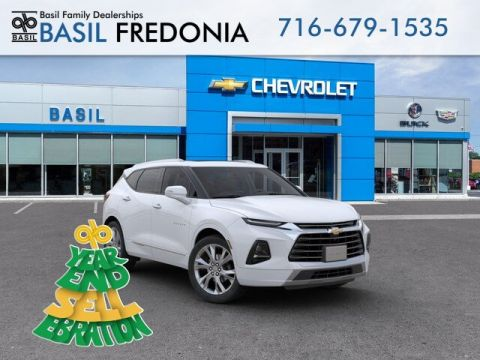 New 2019 Chevrolet Blazer Premier With Navigation & AWD - #19410 in Fredonia, NY | Basil Family Dealerships