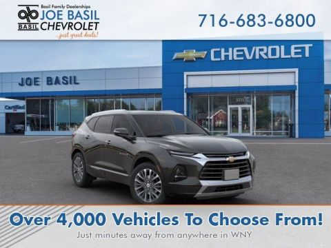 New 2019 Chevrolet Blazer Premier With Navigation & AWD - #D1587T in Depew, NY | Basil Family Dealerships