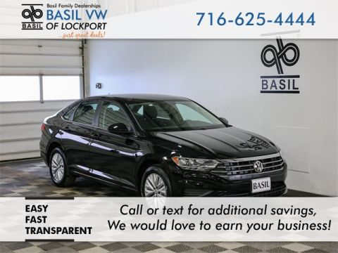 New 2019 Volkswagen Jetta 1.4T S - #V9687 in Lockport, NY | Basil Family Dealerships