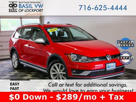Used 2017 Volkswagen Golf Alltrack TSI S AWD - #V9601A in Lockport, NY | Basil Family Dealerships
