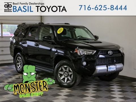 Pre-Owned 2018 Toyota 4Runner TRD Off-Road