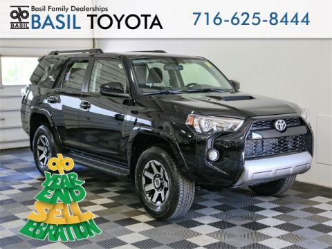 New 2019 Toyota 4Runner TRD Off-Road With Navigation & 4WD - #90736 in Lockport, NY | Basil Family Dealerships